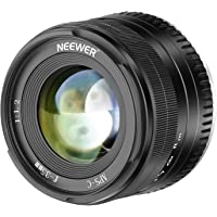Neewer 35mm F1.2 Large Aperture Prime APS-C Aluminum Manual Lens Compatible with Fuji X Mount Mirrorless Cameras X-A1 X…