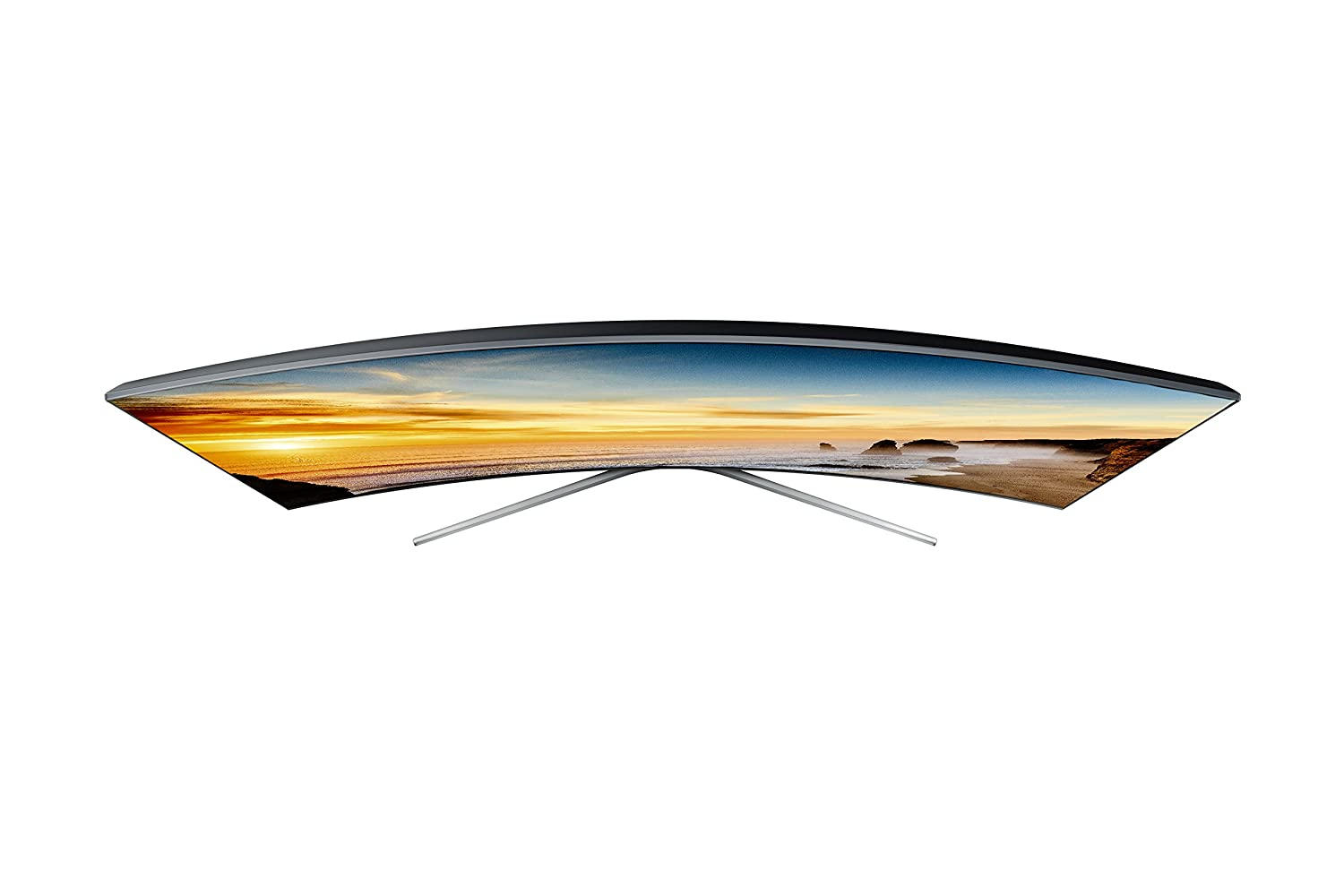 Samsung UN78KS9800 Curved 78-Inch 4K Ultra HD Smart LED TV (2016 ... for Led Tv Top View  56bof