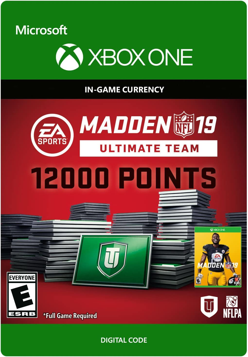 Amazon com: Madden NFL 19: MUT 12000 Madden Points Pack