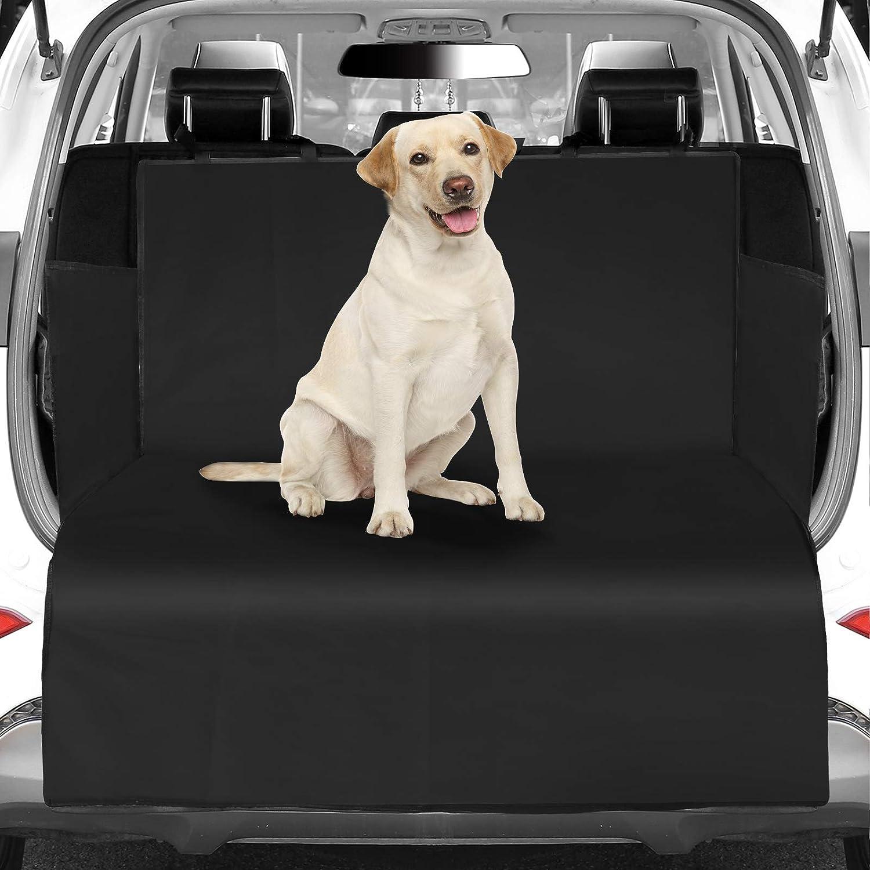 Womgf Hund Kofferraumschutz Mit Seitenschutz Wasserabweisend Kofferraumdecke Mit Aufbewahrungsbeutel Hundedecke Haustier