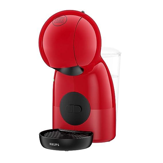 Krups Piccolo KP1A05 - Cafetera cápsulas Nestlé Dolce Gusto de 15 bares de presión y 1500 W de potencia con depósito de 0,8 L, monodosis multibebidas ...