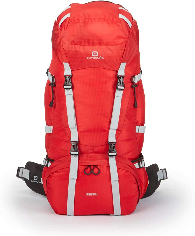 Outbound Internal Frame Hiking Backpack 45L