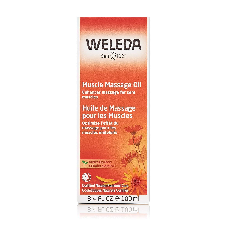 Weleda Arnica Massage Oil - 3.4 Oz, 3.4 Ounces : Beauty