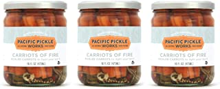 product image for Carriots of Fire (3-pack) - Spicy pickled carrot sticks 16oz