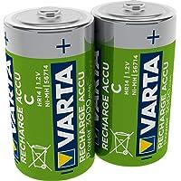 VARTA oplaadbare accu Ready2Use C 3000 mAh 2-Pack zwart