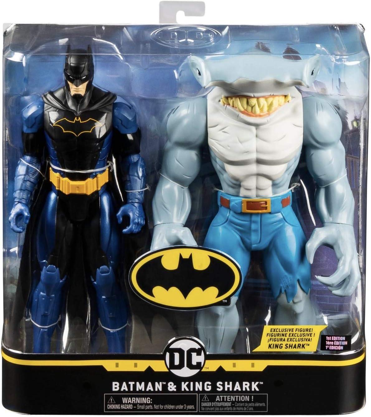 DC Comics Batman and Exclusive King Shark 12 Action Figures Set (1st Edition)