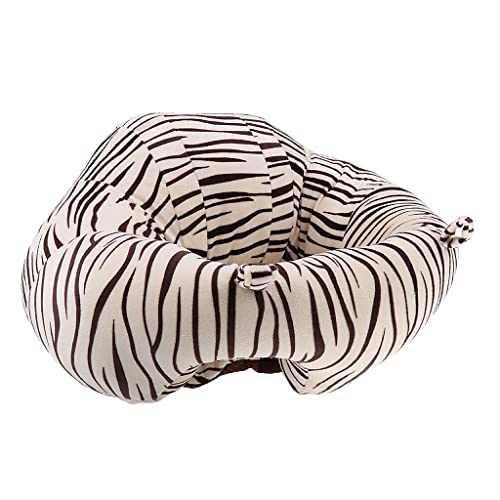 Monkeyjack Cotton Baby Support Seat Soft Chair Car Cushion Sofa Plush Pillow Toys Style 1 Leopard As Described