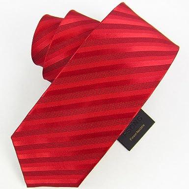 De hombres trajes de etiqueta moda negocio corbata-G: Amazon.es ...