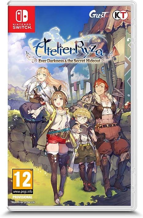 Atelier Ryza: Ever Darkness & The Secret Hideout pour Switch [Importación francesa]: Amazon.es: Videojuegos
