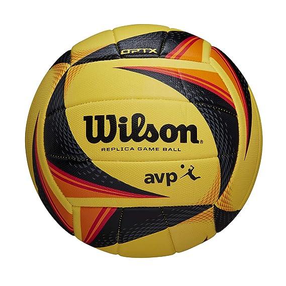 Wilson WTH01120XB Balón de Voléibol, Optx Avp Vb Repica Nyc, Cuero ...