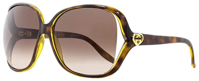 dfdb32d396 Image Unavailable. Image not available for. Color  Gucci Square Sunglasses  GG0506S 005 Havana 60mm 0506