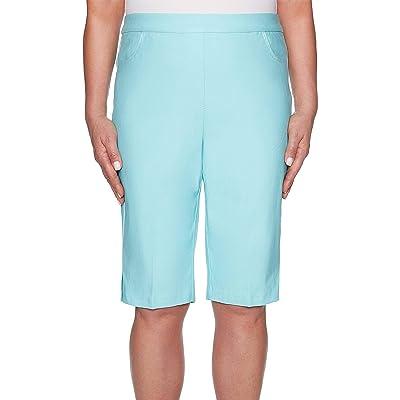 Alfred Dunner Women's Catalina Island Allure Bermuda Short at Amazon Women's Clothing store
