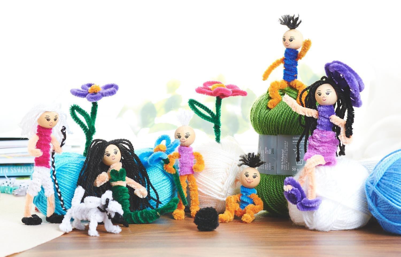 Chenilledraht-Set, 100 Stück: Amazon.de: Spielzeug