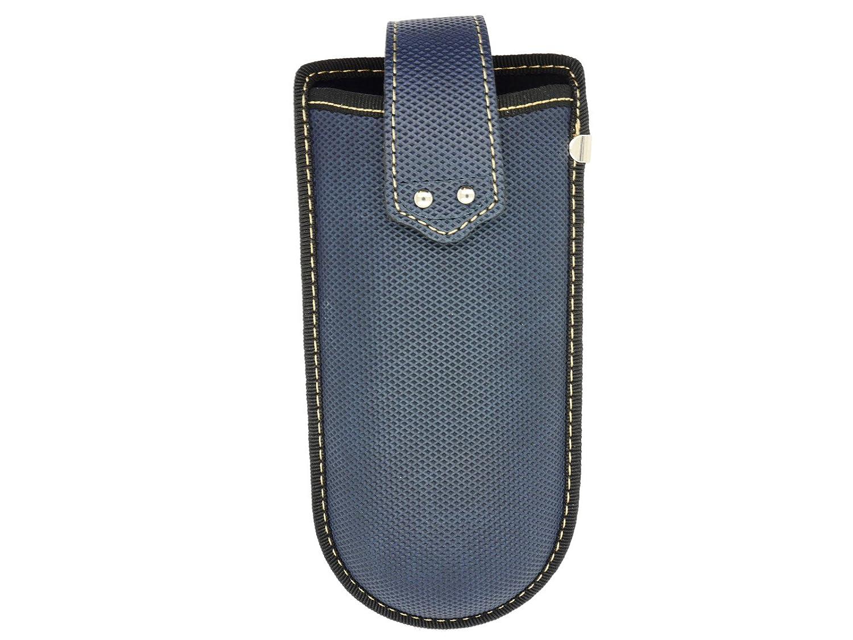 Belt Clip Glasses Case With Strap (Blue) Dunelm