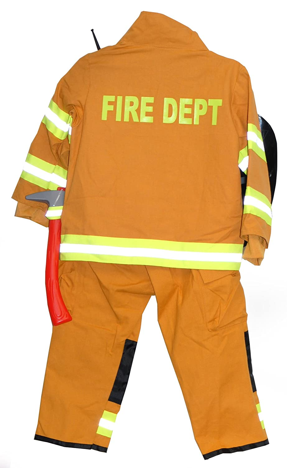 Amazon.com: Boy s y la niña del Bombero Disfraz: Clothing