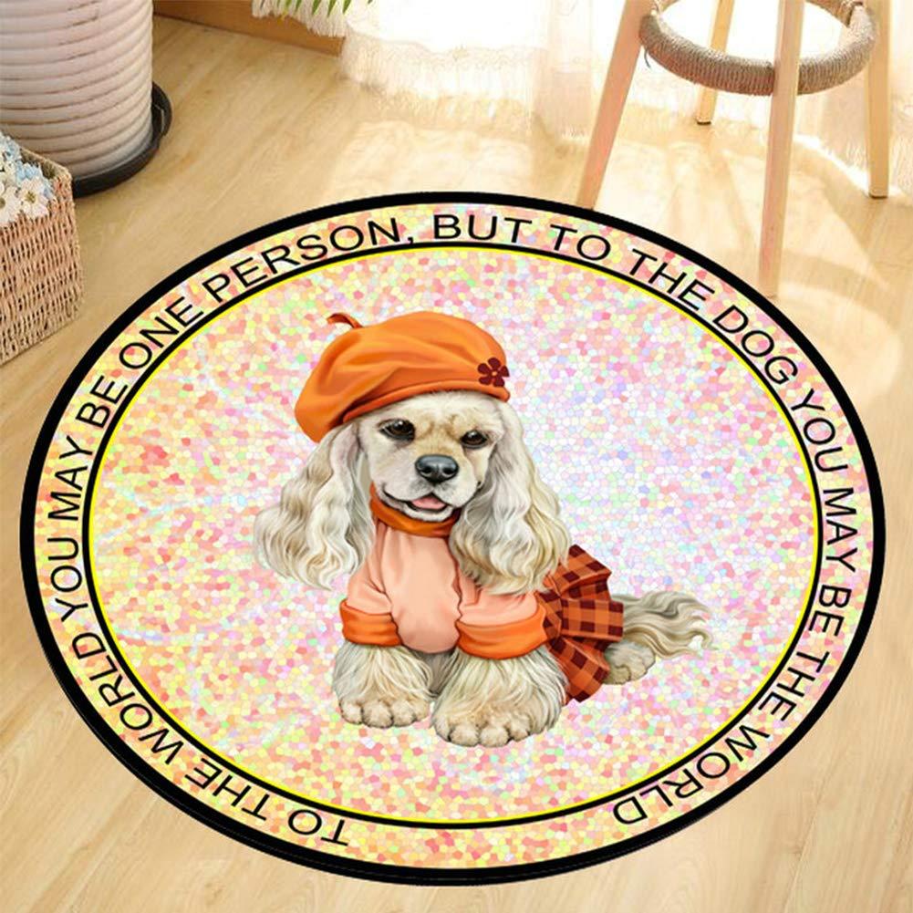 最高 ペット犬マットペットマット漫画ラウンドマット 100cm|Dog 2569 B07Q8VRHG8 100cm Dog B07Q8VRHG8 100cm 100cm|Dog, Jos Brand Select Shop:1fdd8b1c --- arianechie.dominiotemporario.com