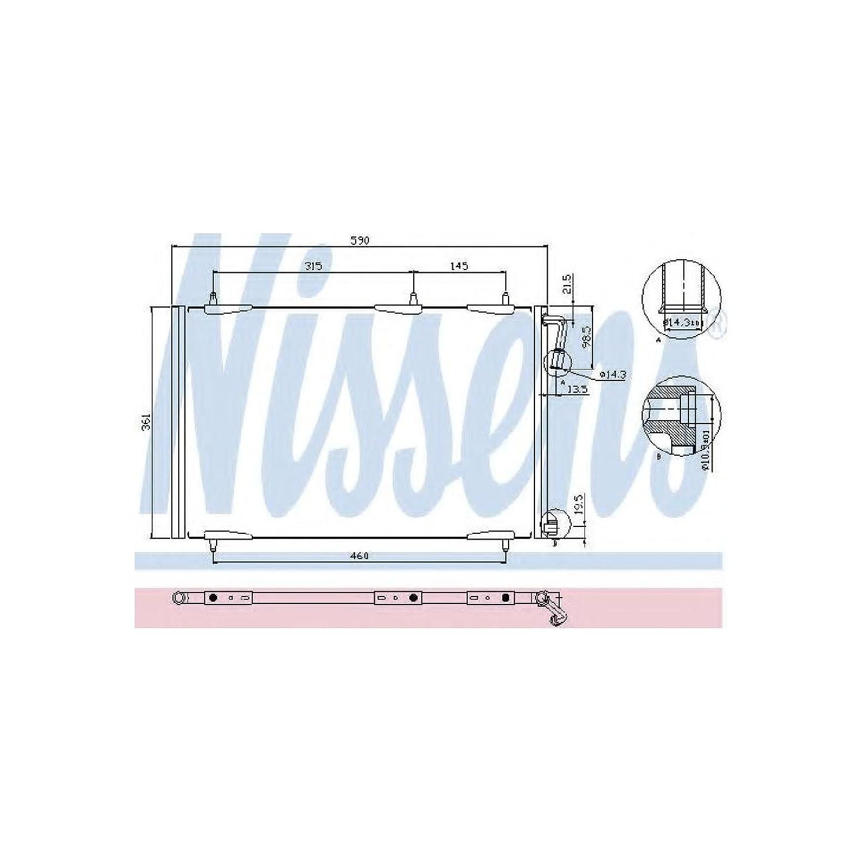VAN WEZEL 40005257 Kondensator Klimaanlage