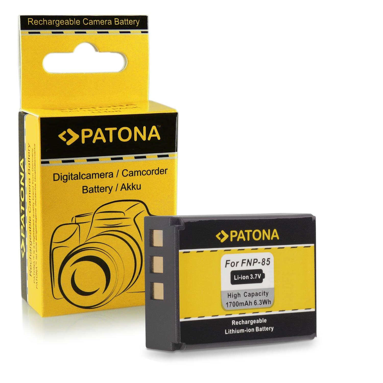 PATONA 4en1 Chargeur 2x Batterie NP-85 pour Fuji Fujifilm Finepix F305 SL240 SL260 SL280 SL300 SL305 SL1000