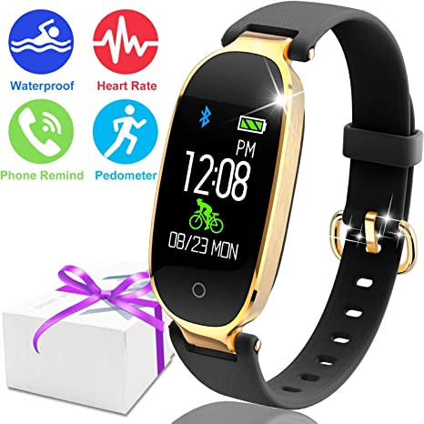 Beautiful Alarm Clock Reminder Smart Watch Men For Android Ios Bluetooth 4.0 Color Screen Fitness Tracker Mart Wristband Women's Watches