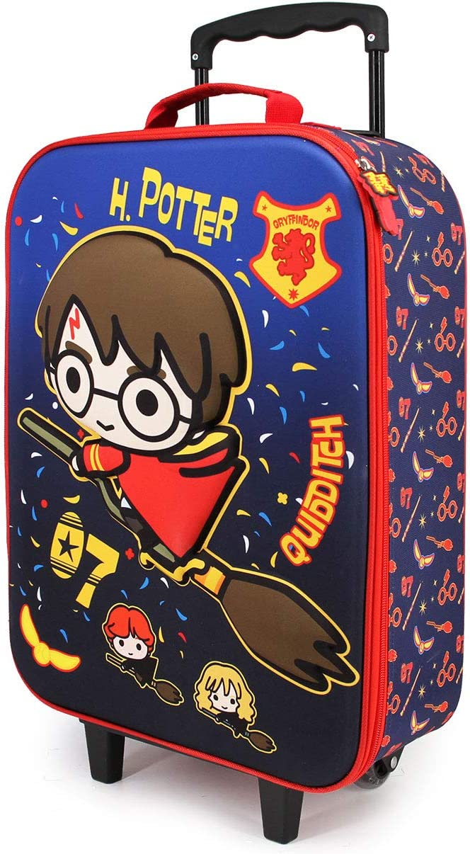 Harry Potter Quidditch-Maleta Trolley Soft 3D
