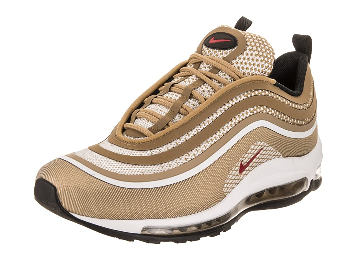 wholesale sales exclusive range best service Nike Men's Air Max 97 Ultra '17 Metallic Gold/Red/White 918356-700 (Size: 8)