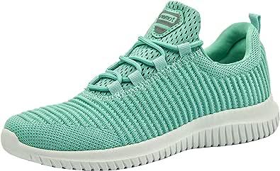riemot Zapatillas Deportivas para Mujer Hombre, Zapatos para Correr Deporte al Aire Libre Running Fitness Gimnasio Súper Ligeras y Transpirables Sneakers Calzado Casual
