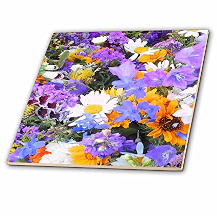 Flowers Pretty in Purple 3dRose BlakCircleGirl I Love These Purple Flowers They Look Lovely on Everything - T-Shirts