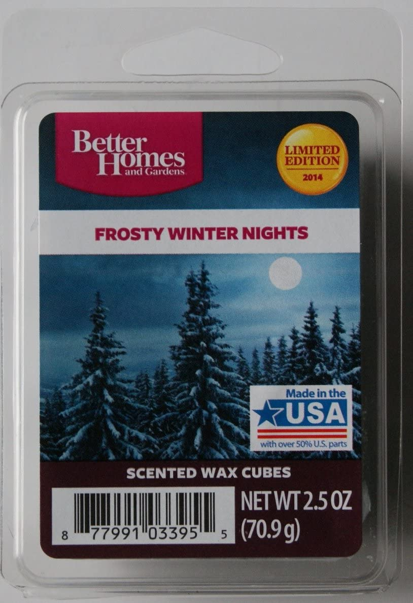Better Homes and Gardens Frosty Winter Nights Wax Cubes