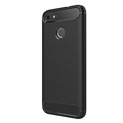 design di qualità b1dea 6aeee HUAWEI Y6 Pro(2017)/P9 Lite Mini Case - Ultra Thin Soft TPU Shock Proof  Back Cover with Carbon Fiber Design Protective Case for HUAWEI Y6  Pro(2017)/P9 ...