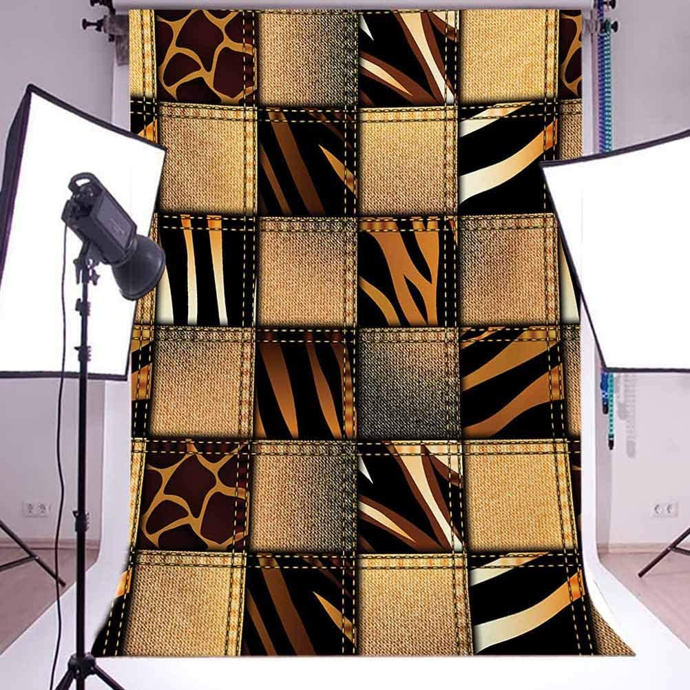 8x10 FT Backdrop Photographers,Dramatic Catastrophe Destruction Background with Allosaurus Fragilis Illustration Background for Photography Kids Adult Photo Booth Video Shoot Vinyl Studio Props