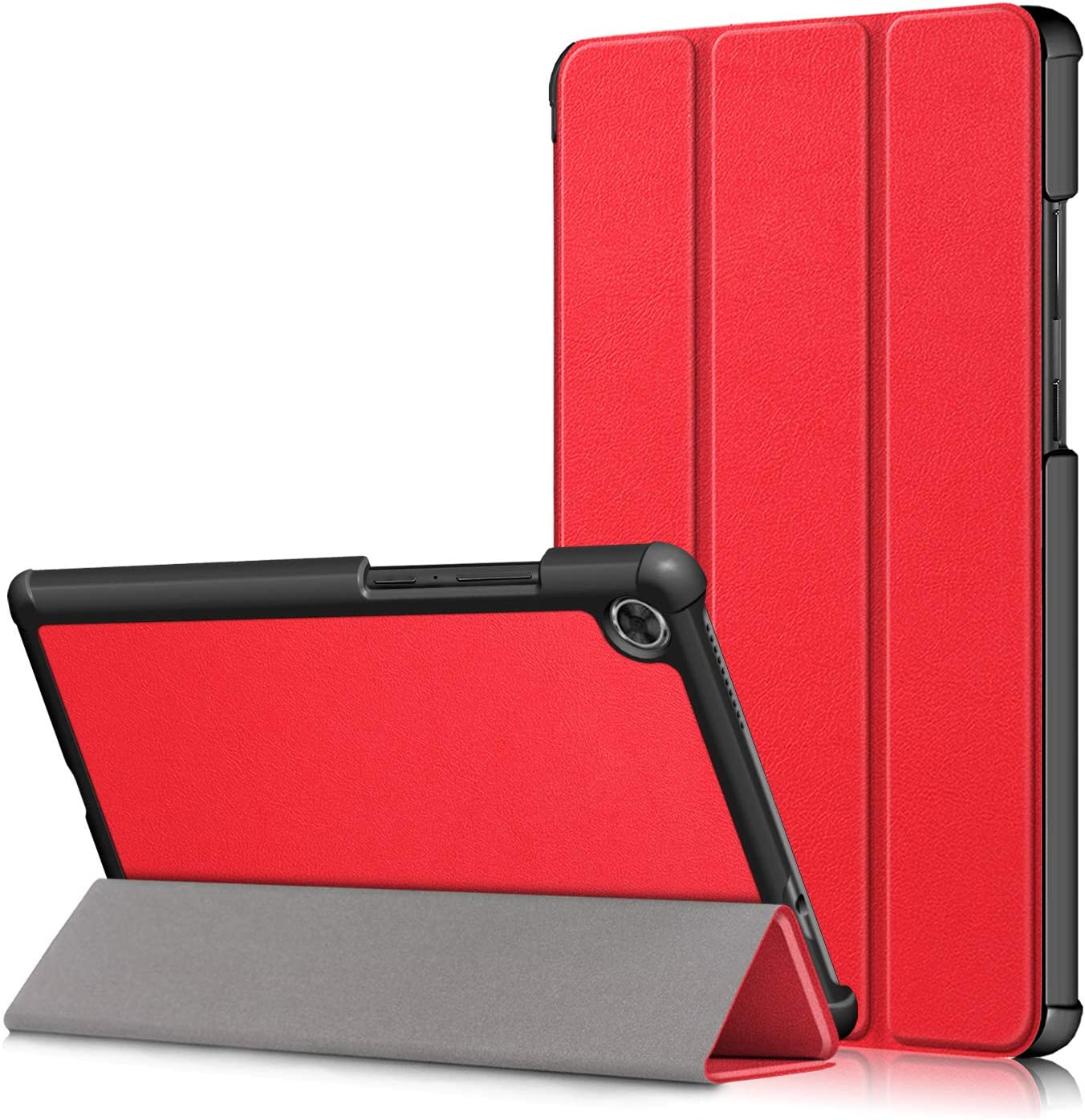 Gylint Lenovo Tab M8 TB-8505F Case, Smart Case Trifold Stand Slim Lightweight Case Cover for Lenovo Tab M8 TB-8505F / TB-8505X Tablet Red