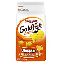 Pepperidge Farm Goldfish CheddarCrackers, 6.6 Ounce Bag, 6 Count