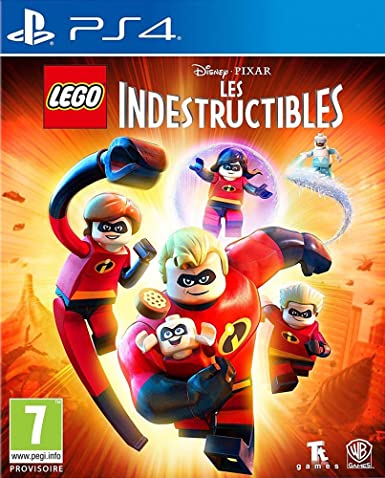 Lego Disney Pixar Les Indestructibles Playstation 4 Amazon Fr