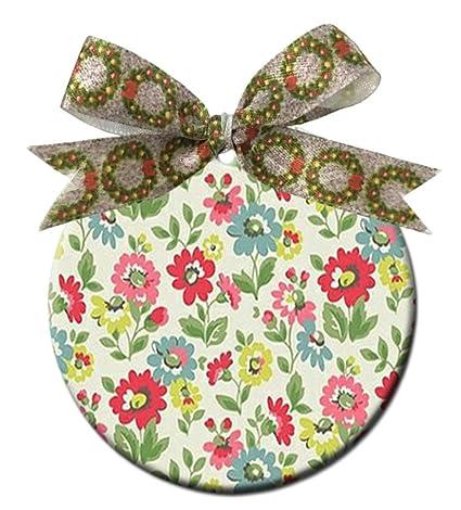 Amazon.com Rose Vintage Pattern Flower Floral DIY Round
