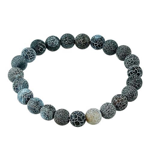 Amazon.com: Transfer Luck Purple Bead Bracelet Chakra Yoga ...