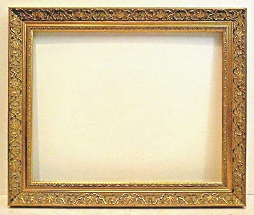 """16 X 20 STANDARD PICTURE FRAME 2 3//4/"""" WIDE GOLD LEAF CLASSIC Carved canvas allow"""