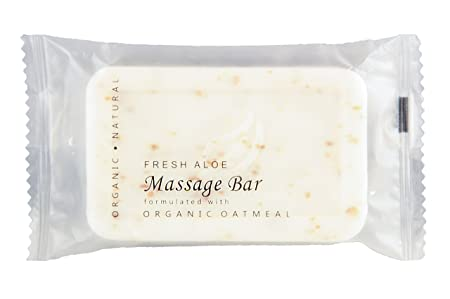 Terra Botanics Organic Oatmeal Massage Bar BNB Amenity travel Sets – Soap Bar SET 60 BARS