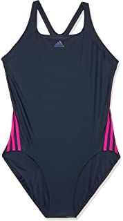 4bef1cd91137eb adidas Damen Infinitex Essence Core 3-Stripes Badeanzug: Amazon.de ...