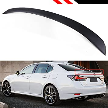 For Lexus Sedan GS350 GS450h 13-18 Carbon Fiber Rear Roof Spoiler