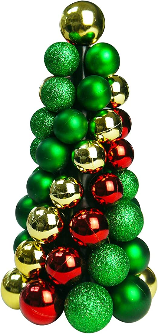 RED GREEN GLITTER BEADS BALLS TABLE CONFETTI WEDDINGS CHRISTMAS TREE DECORATION