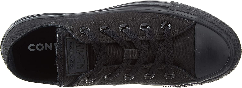 Converse Herren Chck Taylor All Star Ox Sneaker Black Monochrome