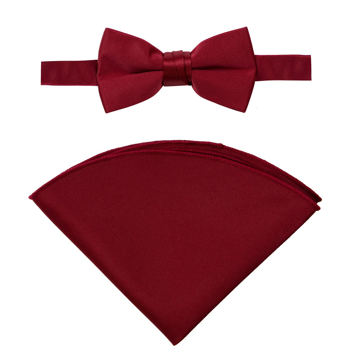 Spring Notion Little Boys Tuxedo Set with Bow Tie and Handkerchief