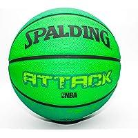 Spalding Attack Basketball Size- 3 (Black/Green)
