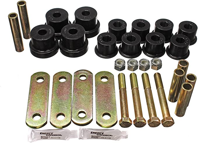 Energy Suspension 3.2136R Heavy Duty Shackle Set for GM