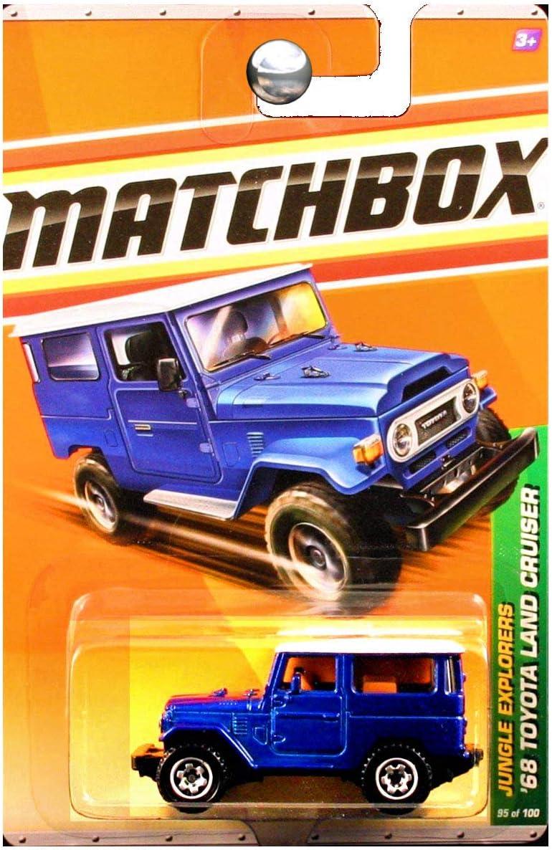 Matchbox - Coche Fundido para Toyota Land Cruiser (número 1 de 6), Color Azul: Amazon.es: Juguetes y juegos