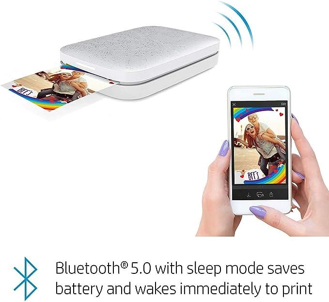HP Sprocket Impresora de Fotos, impresión de Fotos de Medios ...