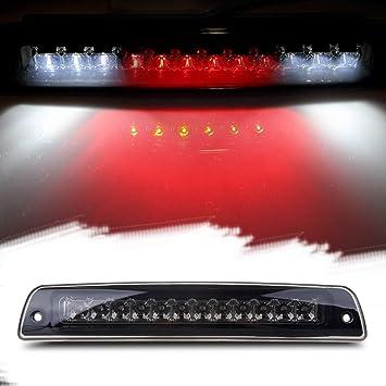 Electroplating Housing Smoke Lens LED 3rd Third Light Brake Light Cargo Light High Mount Stop Brake Light for 1994-2001 Dodge Ram 1500 2500