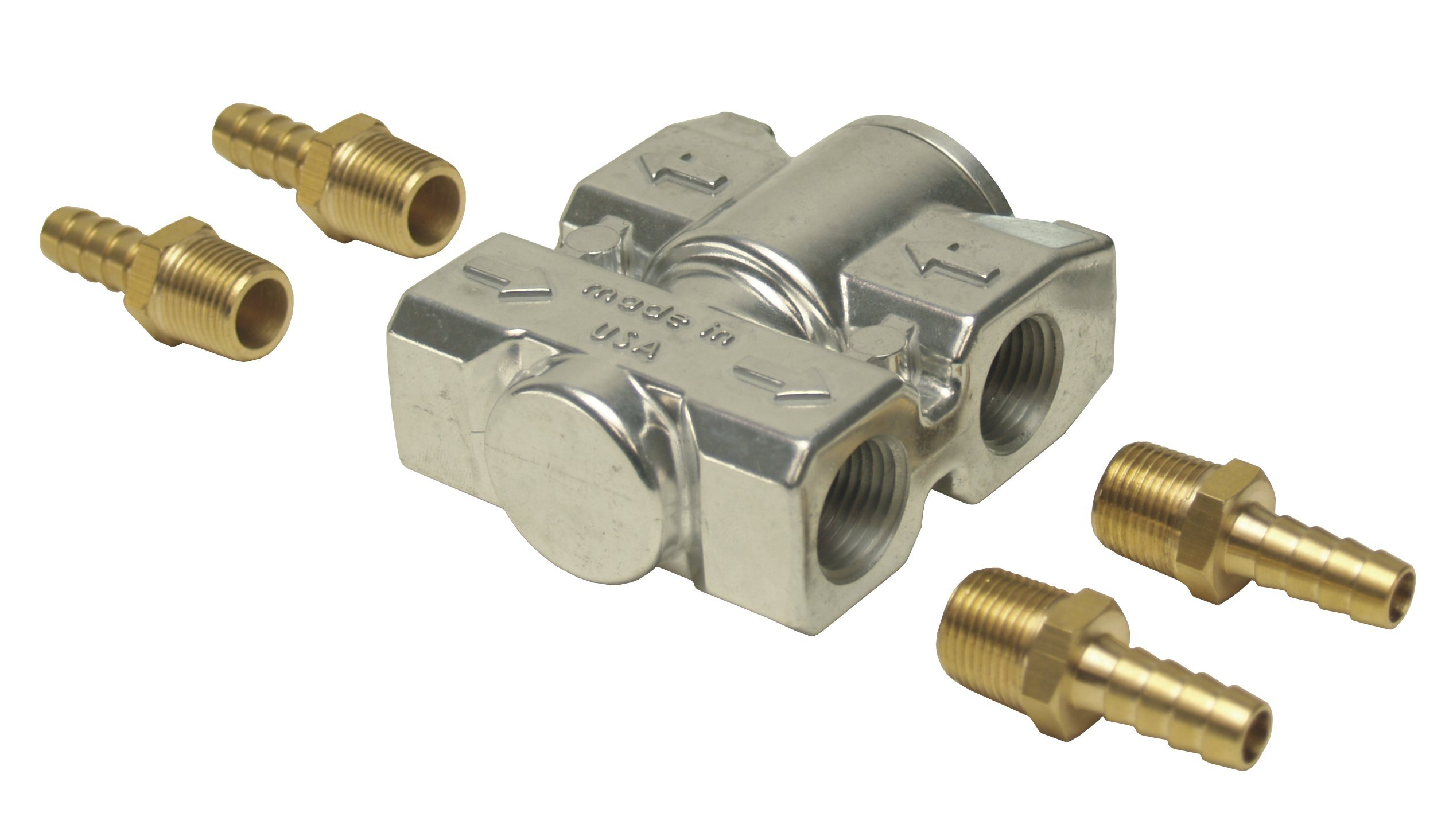 Derale 13011 Fluid Control Thermostat Kit by Derale