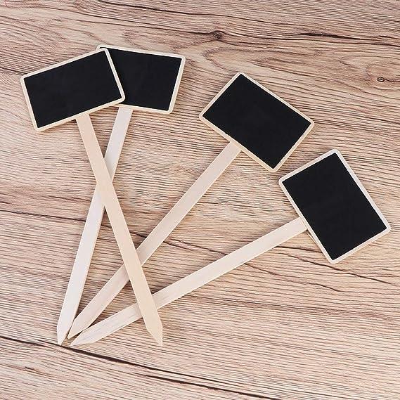 SUPVOX 20 piezas mini pizarra de madera mini pizarra recoge ...
