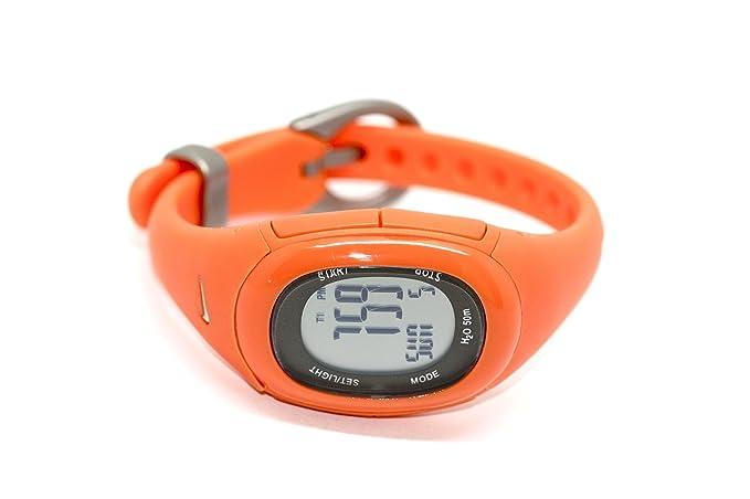 Nike Imara Fit Naranja Digital de Goma Reloj Deportivo WR0076 - 802: Amazon.es: Relojes